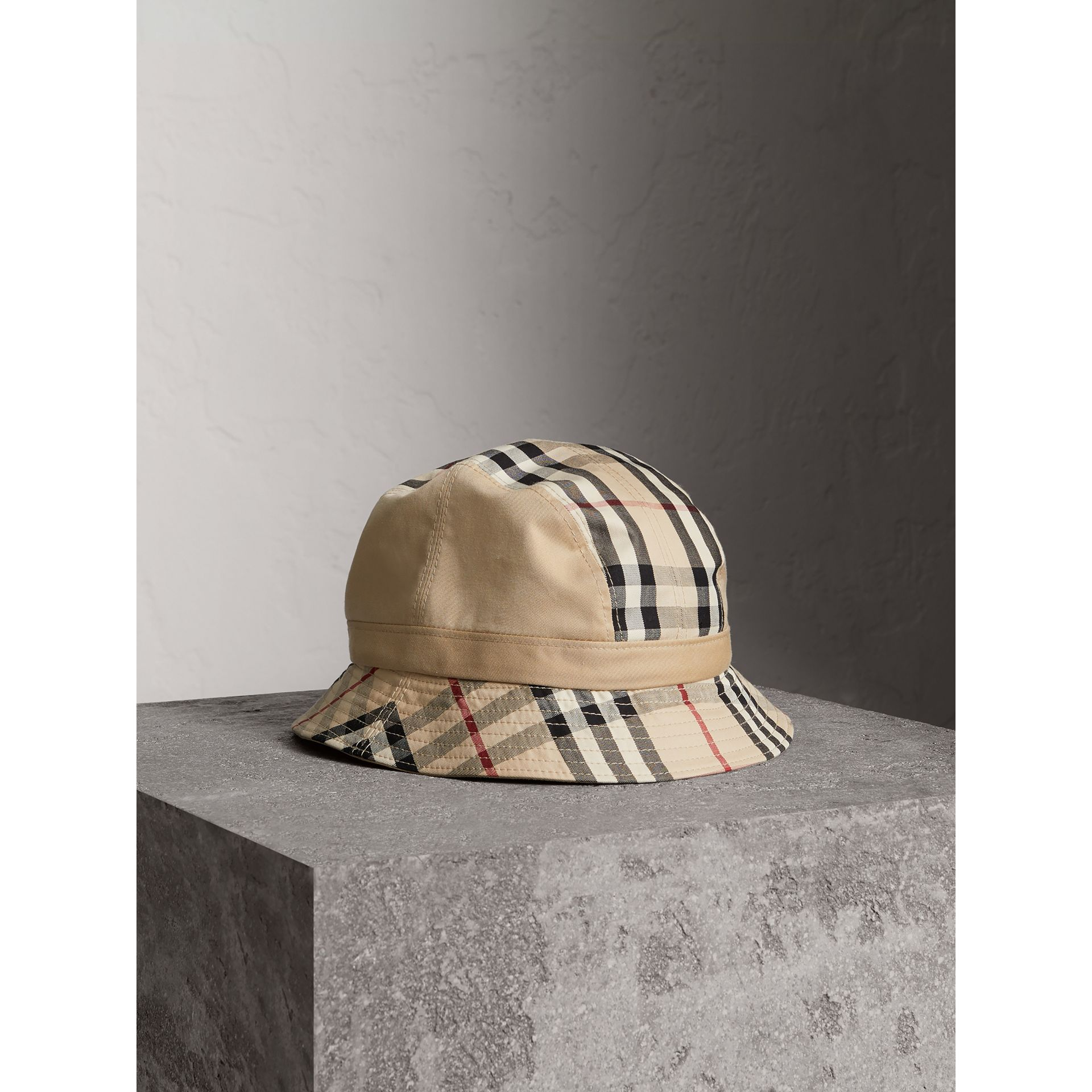 Gosha x Burberry Bucket Hat in Honey | Burberry - gallery image 1