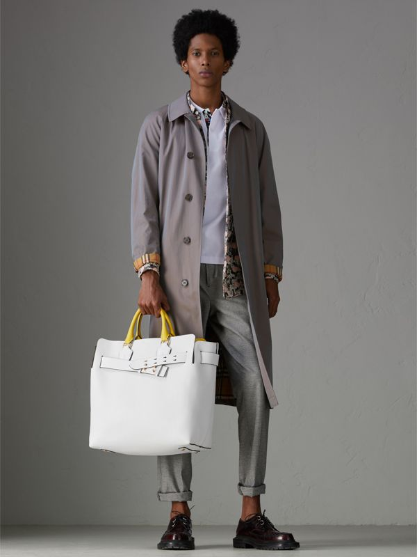 Grand sac The Belt en cuir (Blanc Craie) | Burberry Canada - cell image 3