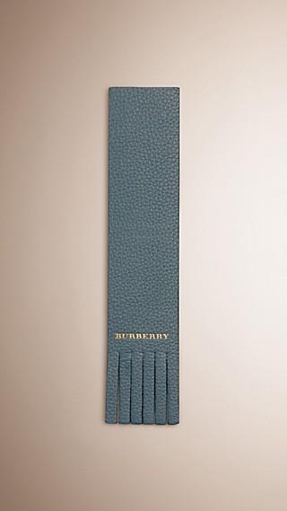 Grainy Leather Bookmark