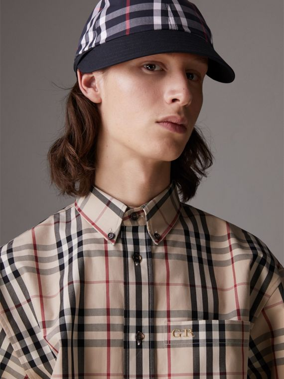 Gosha x Burberry Baseball Cap in Navy