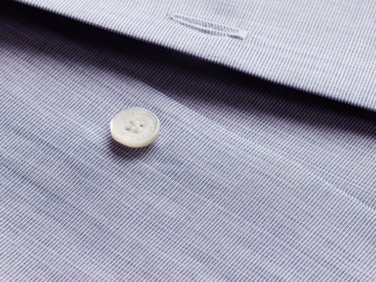 Light blue Camisa de mescla de algodão Light Blue - cell image 1