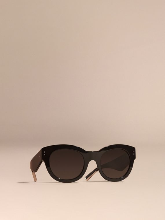 Cat-Eye Sunglasses Black