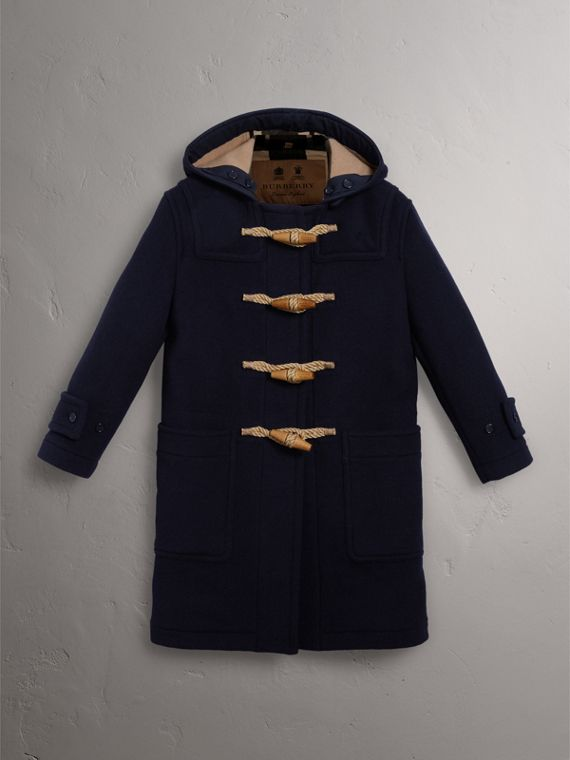 The Greenwich Duffle Coat in Navy - Women | Burberry United States - cell image 3