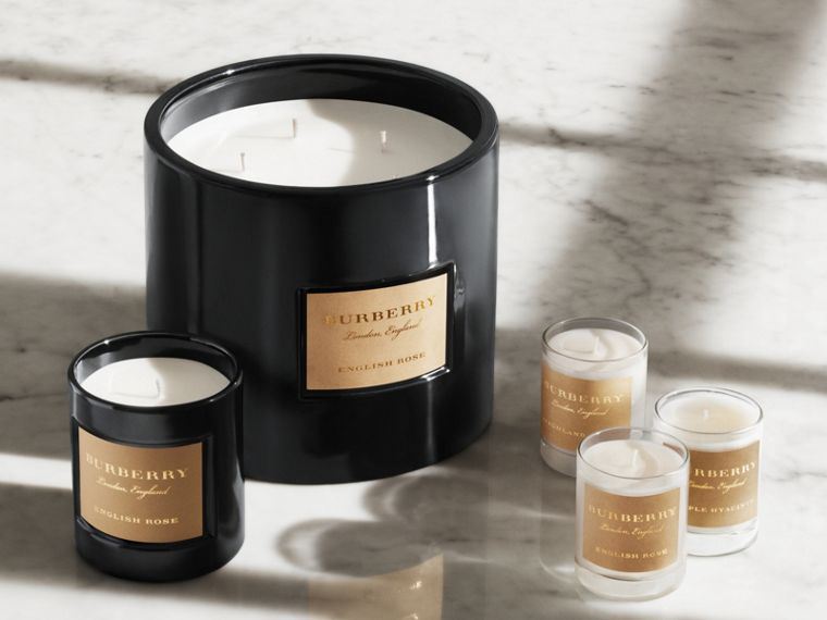 Scented Candle Collection – Cedar Wood, Black Amber, Dewy Grass | Burberry Singapore - cell image 1