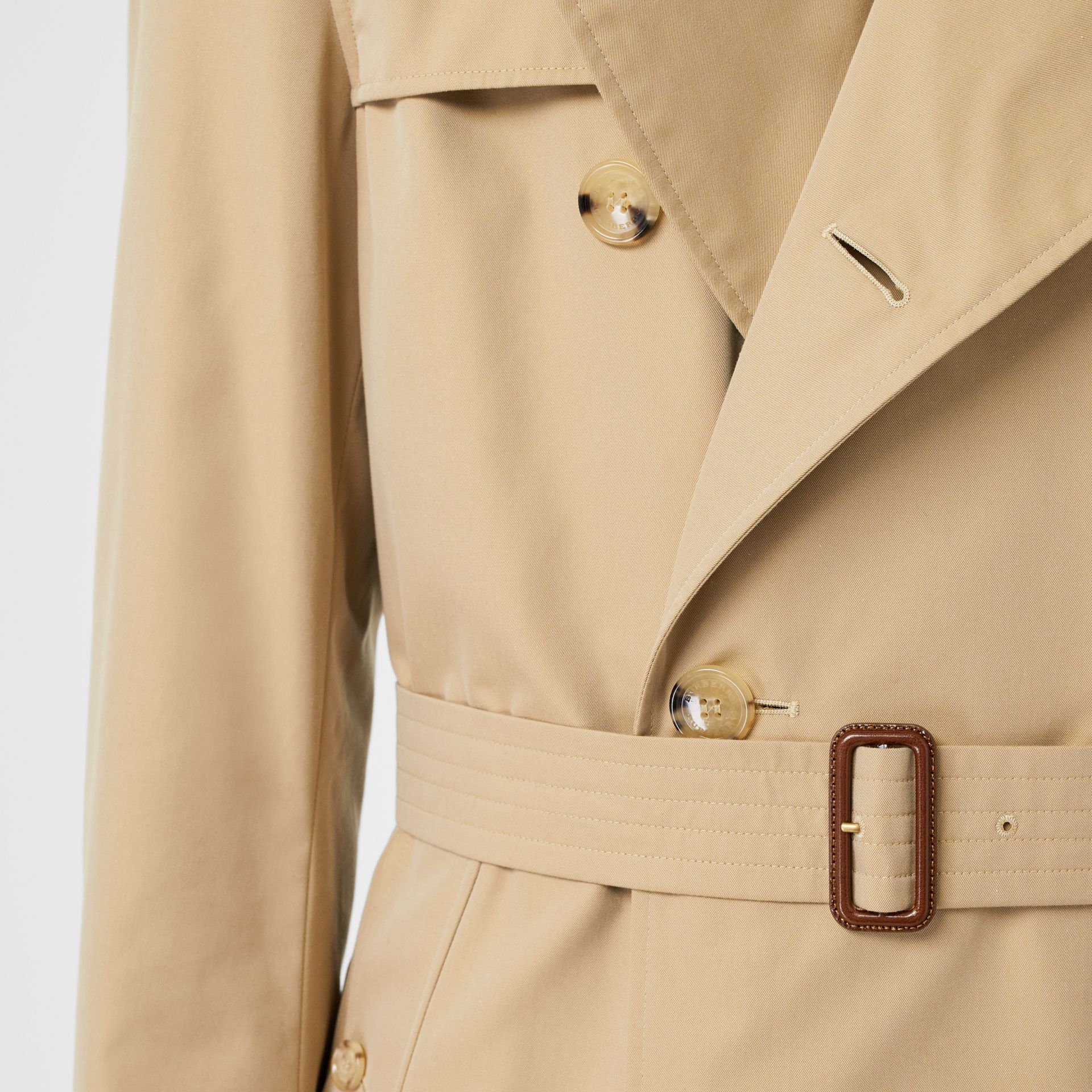 Trench Heritage The Chelsea (Miel) - Homme | Burberry Canada - photo de la galerie 6