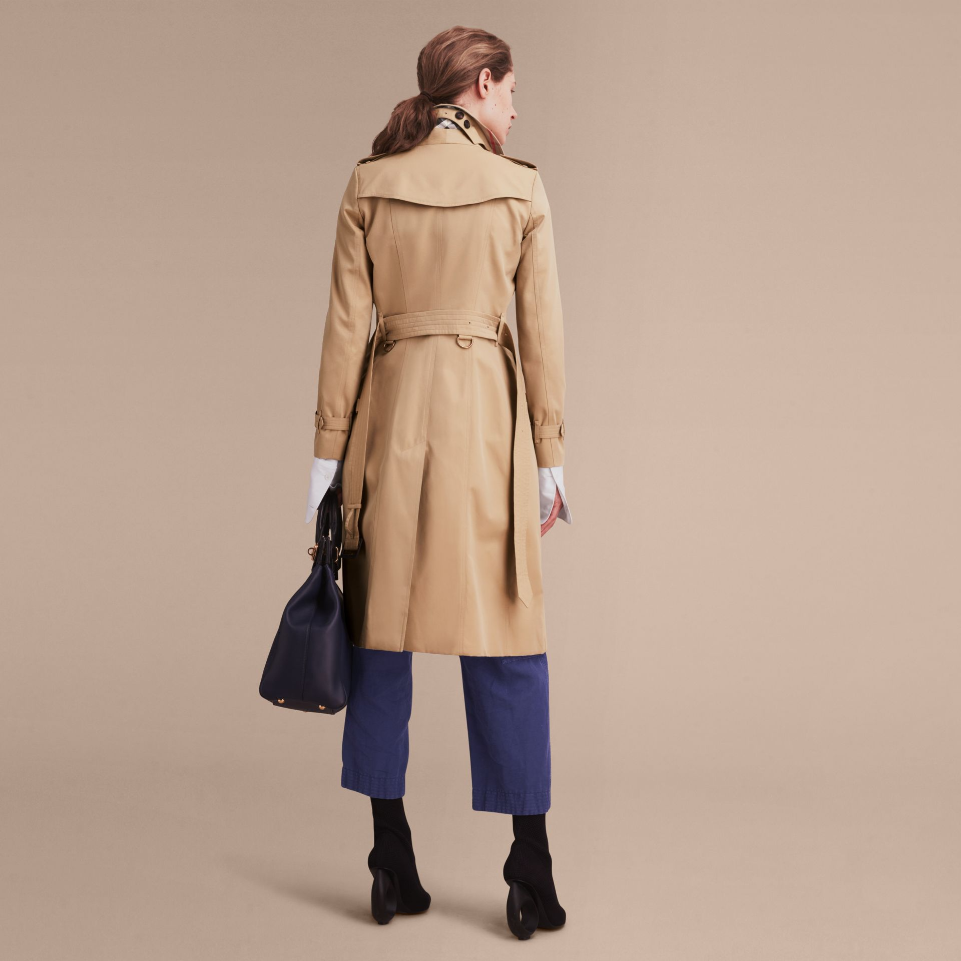 Honey The Chelsea – Extra-long Heritage Trench Coat Honey - gallery image 4
