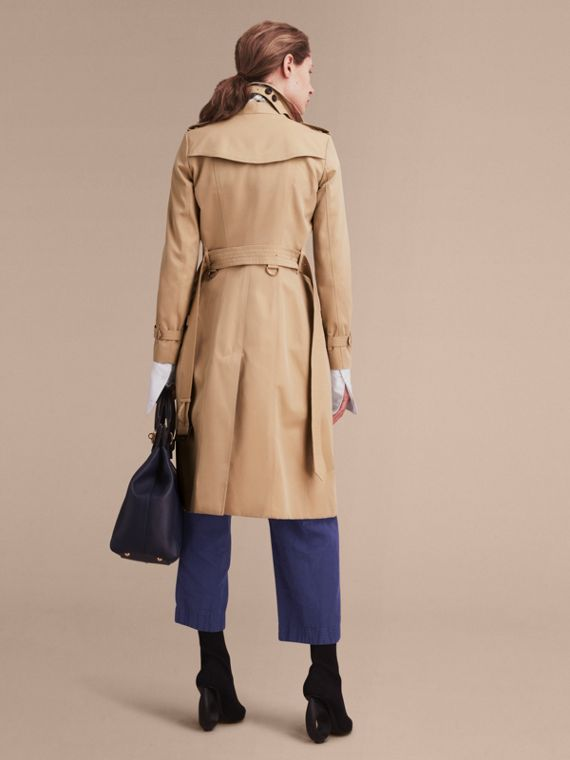 Honey The Chelsea – Extra-long Heritage Trench Coat Honey - cell image 3