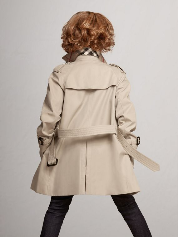 The Wiltshire – Heritage Trench Coat in Stone - Boy | Burberry - cell image 3
