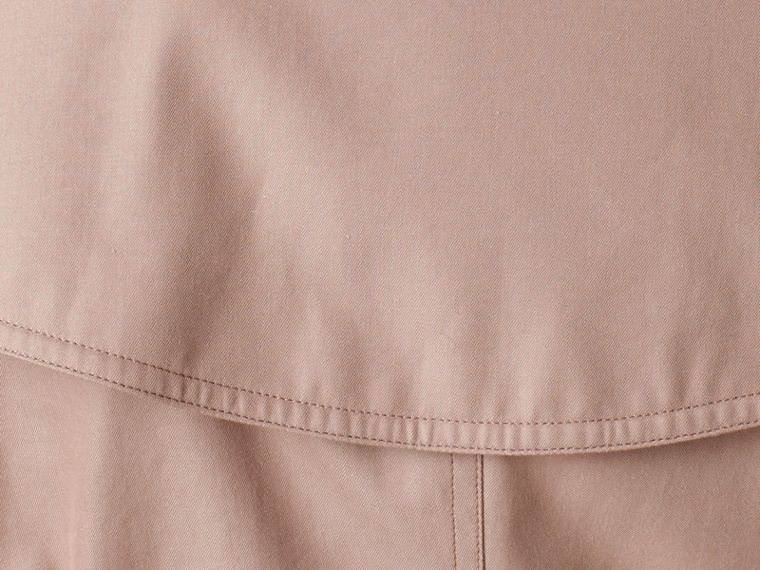 Nude Lightweight Cotton Gabardine Trench Coat Nude - cell image 1