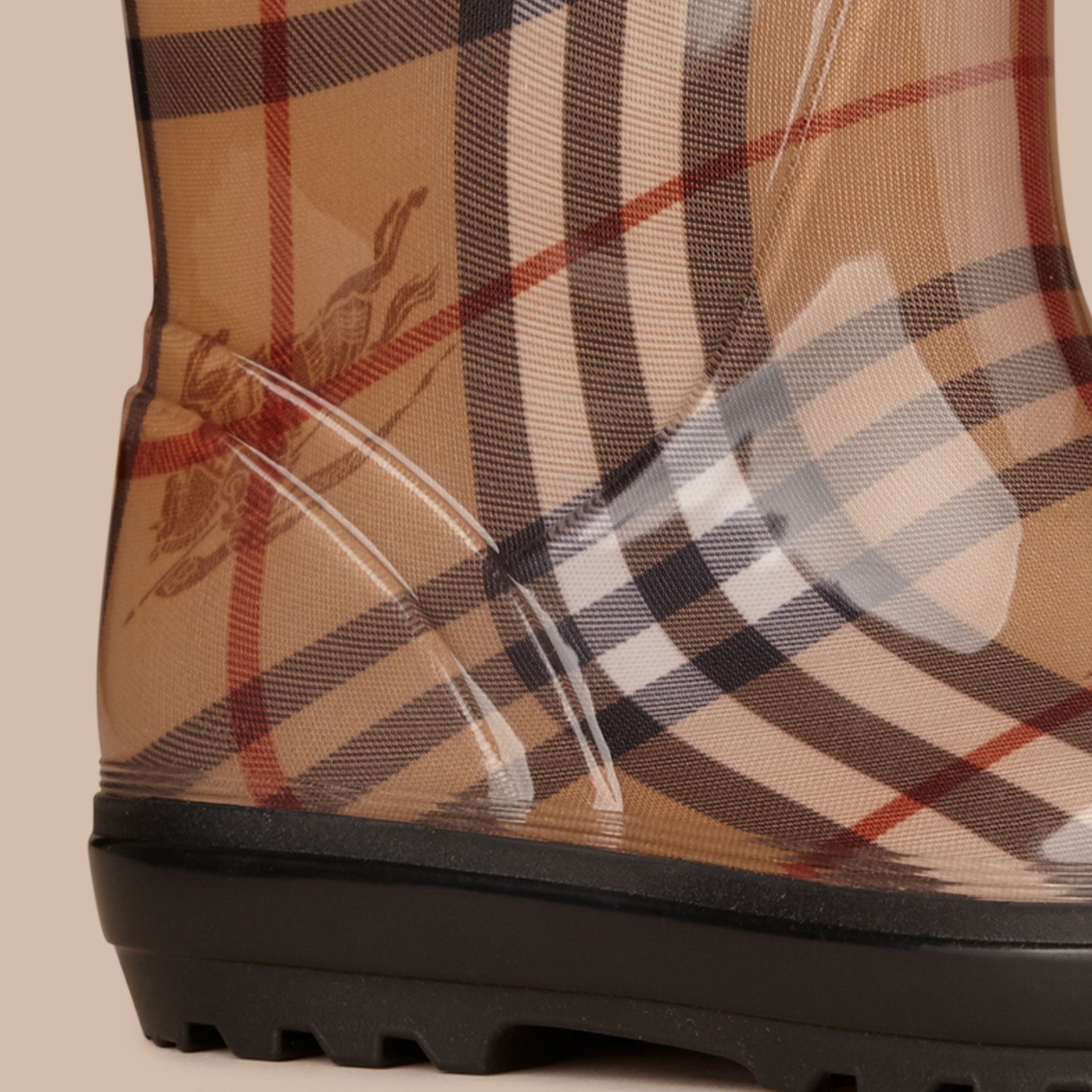Classic Check Rain Boots - gallery image 2