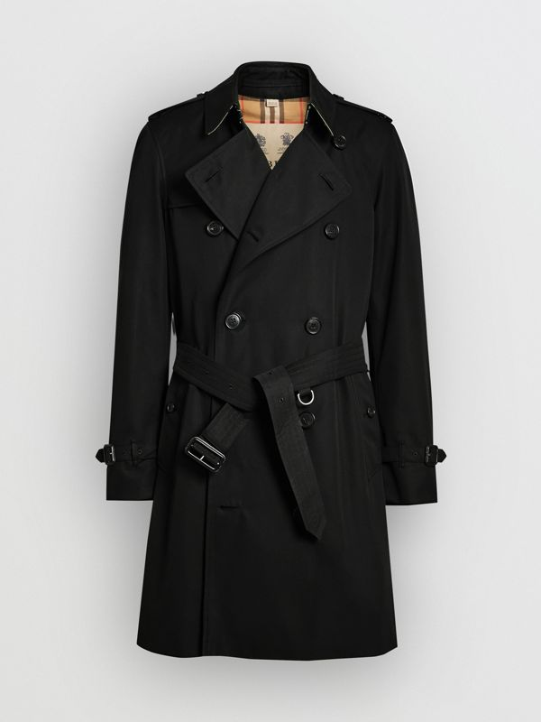 The Chelsea Heritage Trench Coat in Black - Men | Burberry - cell image 3