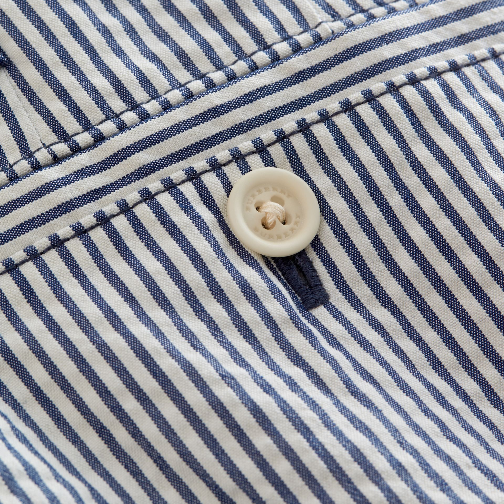 Striped Lightweight Chino Shorts - gallery image 2