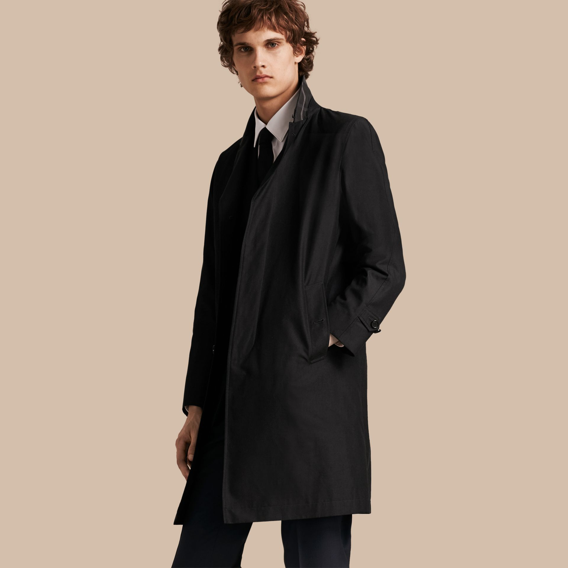 Mercury Cotton Gabardine Car Coat - gallery image 1