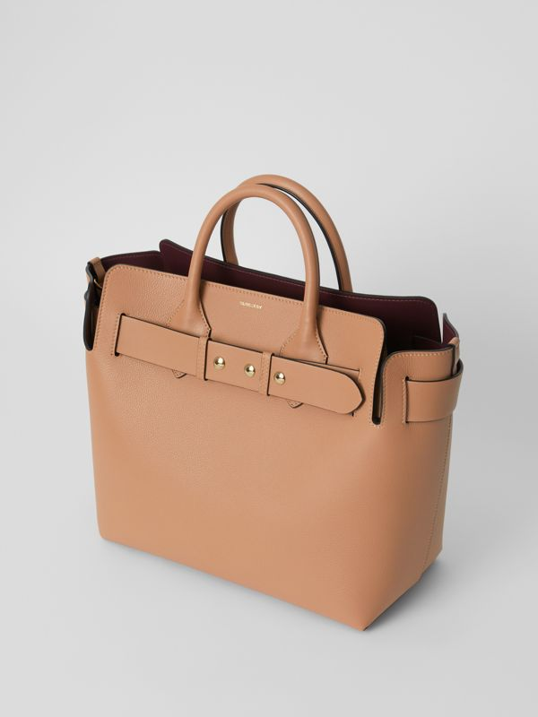 The Medium Leather Triple Stud Belt Bag in Light Camel - Women | Burberry Singapore - cell image 3