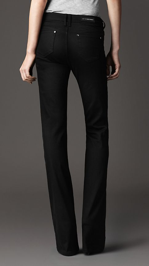 Black Harwood Black Flared Jeans - Image 3
