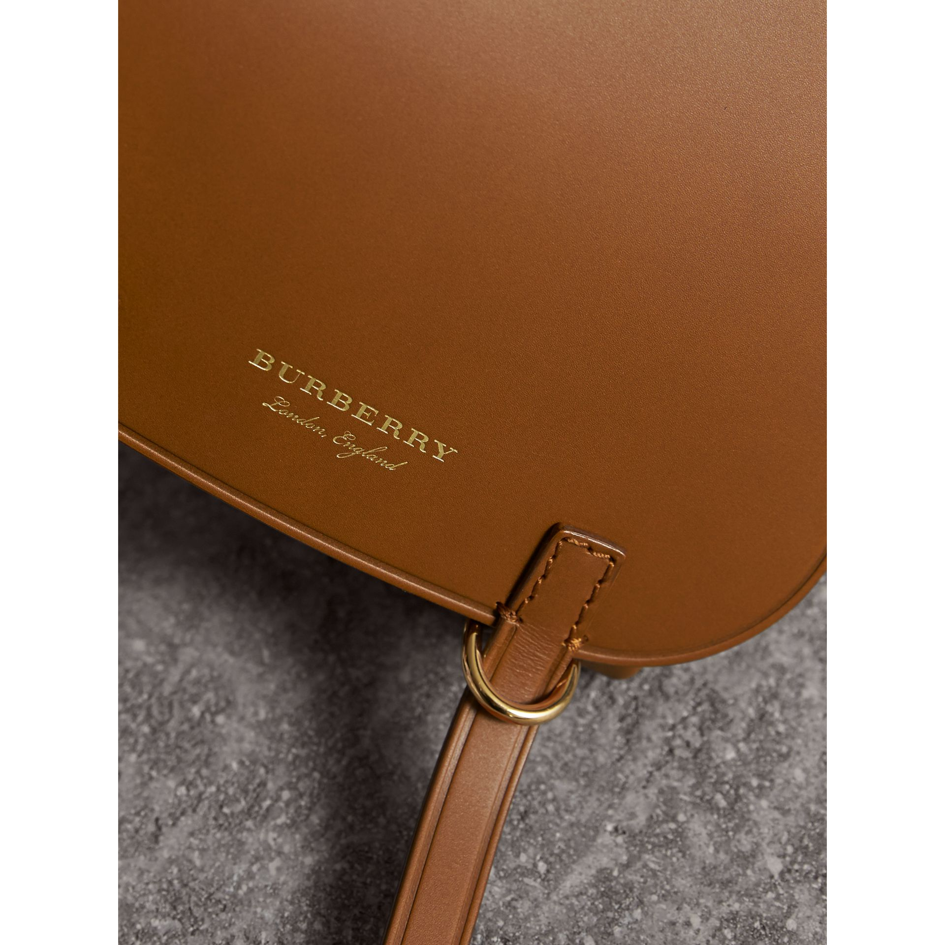 The Baby Bridle Bag in Leather in Tan - Women | Burberry - gallery image 2
