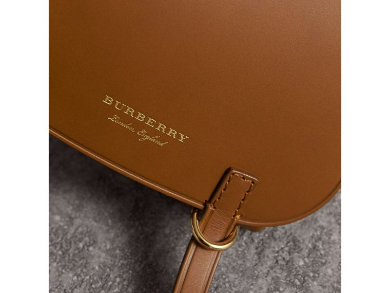 The Baby Bridle Bag in Leather in Tan - Women | Burberry - cell image 1