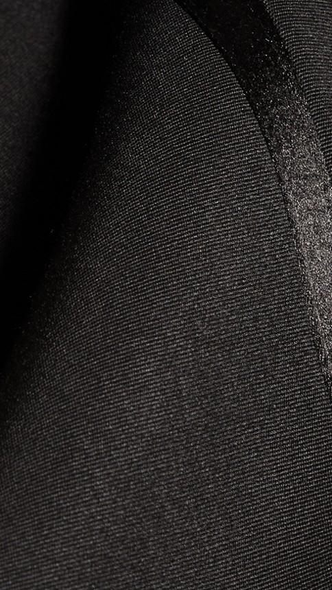 Noir Pantalon de smoking en laine vierge Noir - Image 2