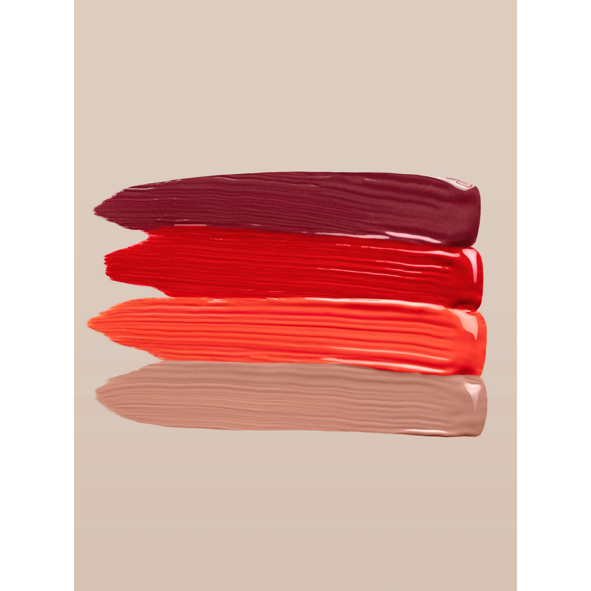 Burberry Kisses Lip Lacquer – Tangerine Red No.35 - Women | Burberry - gallery image 3