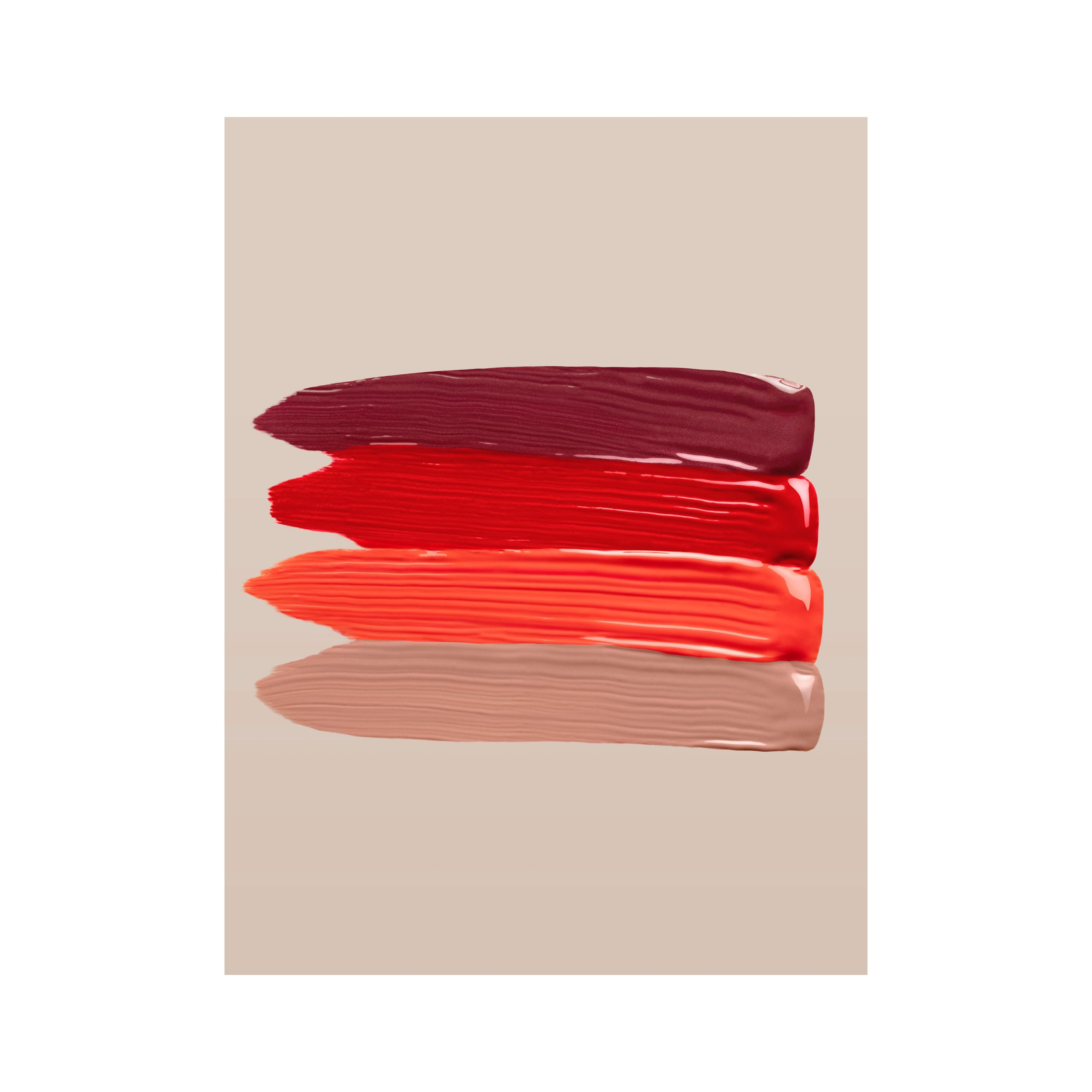 Burberry Kisses Lip Lacquer – Tangerine Red No.35 - Women | Burberry - 4