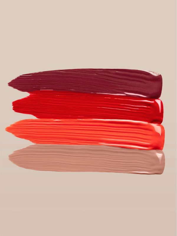 Burberry Kisses Lip Lacquer – Tangerine Red No.35 - Women | Burberry - cell image 3