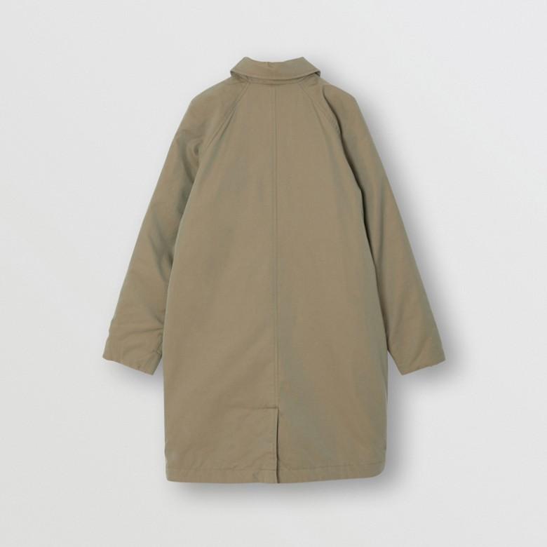 Burberry - Abrigo tres cuartos reversible en algodón de gabardina tropical - 5