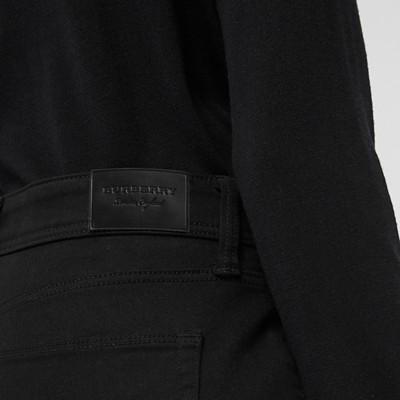 Burberry - Jean skinny taille basse noir intense - 2