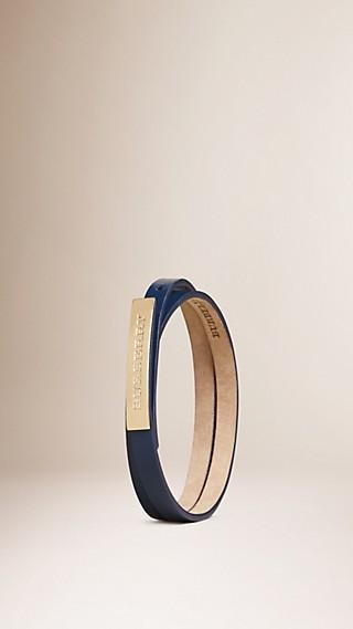 Bracelet à plusieurs tours en cuir