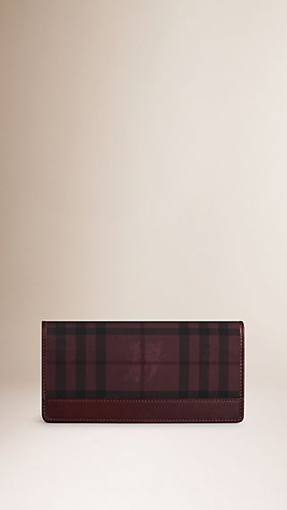 Overdyed Horseferry Check Continental Wallet