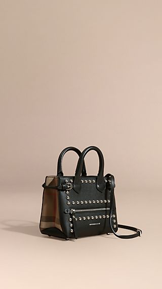 The Baby Banner in Studded Leather and House Check