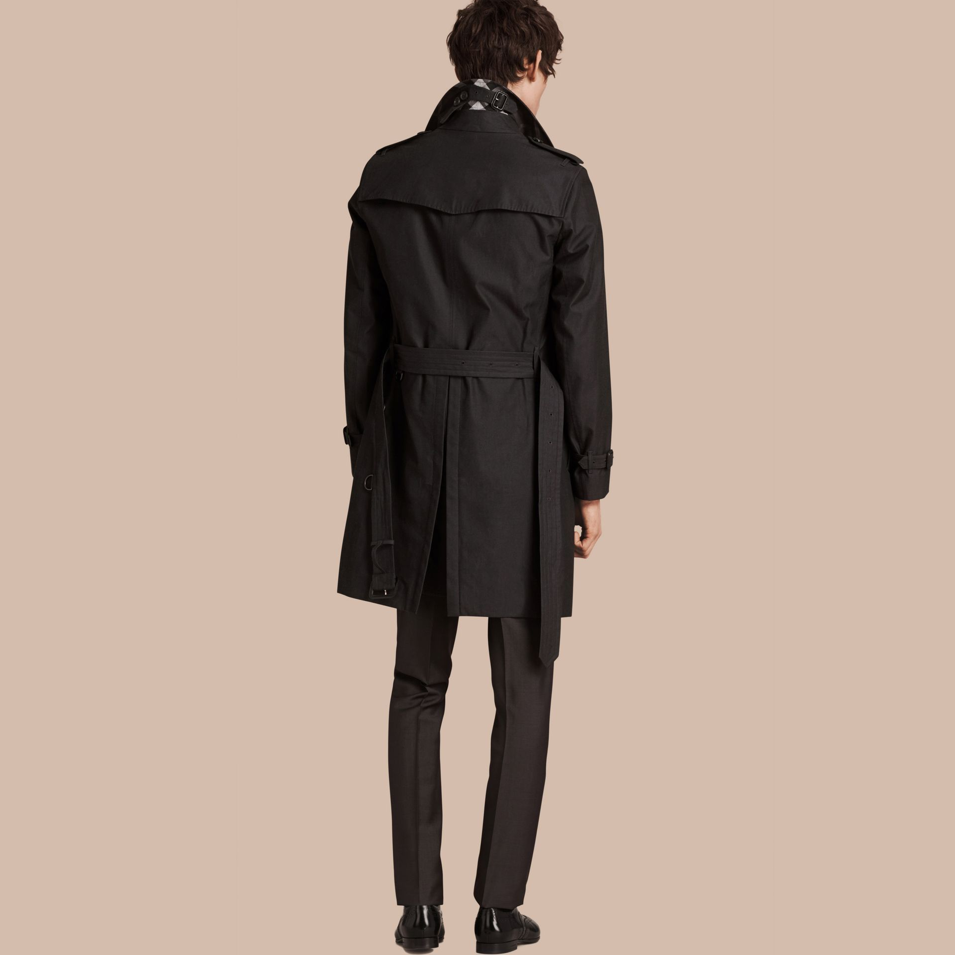 Mercury The Chelsea – Cotton Gabardine Trench Coat Mercury - gallery image 2