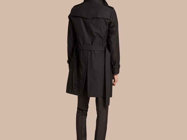 Mercury The Chelsea – Cotton Gabardine Trench Coat Mercury - cell image 1