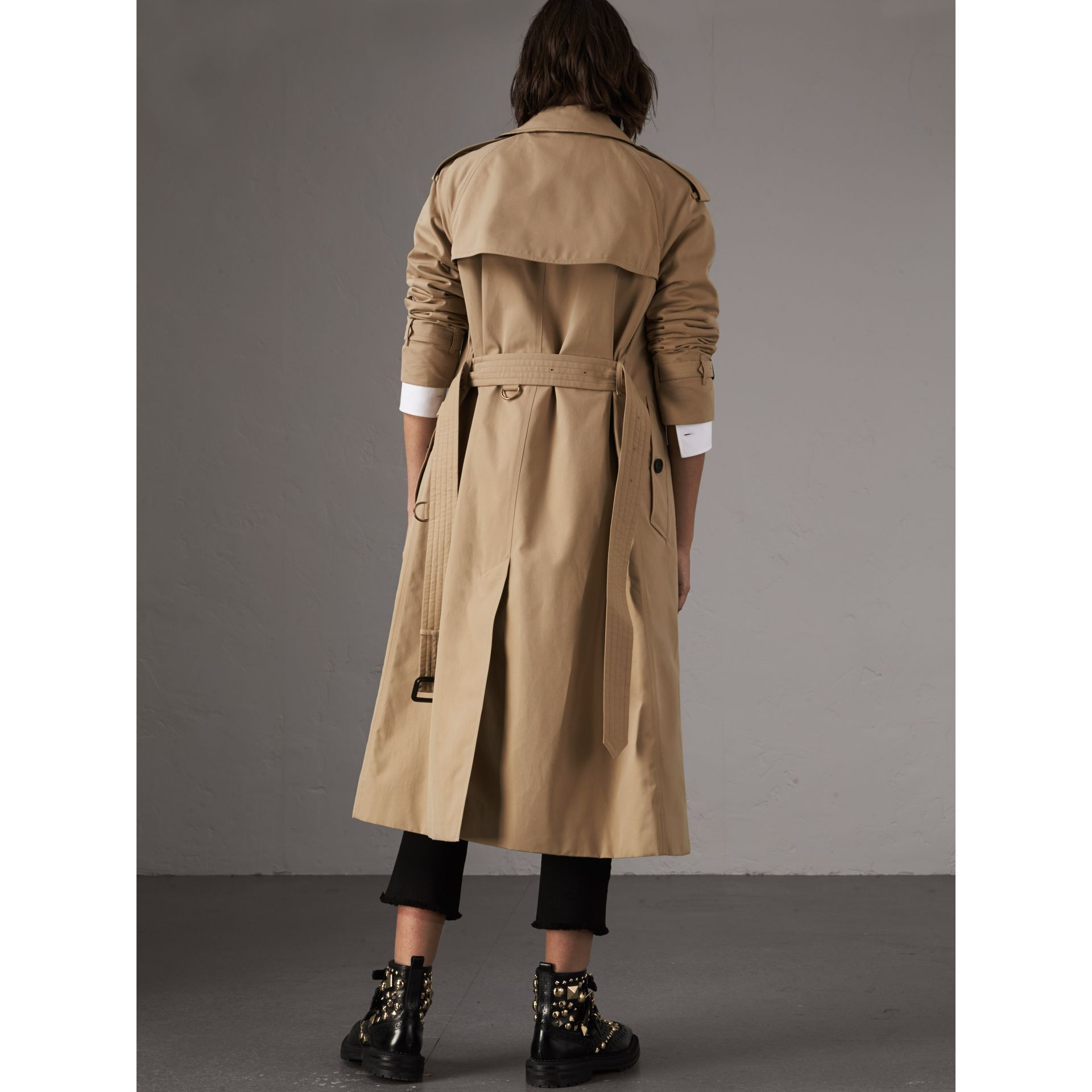 The Westminster – Extra-long Trench Coat in Honey - Women | Burberry - gallery image 3