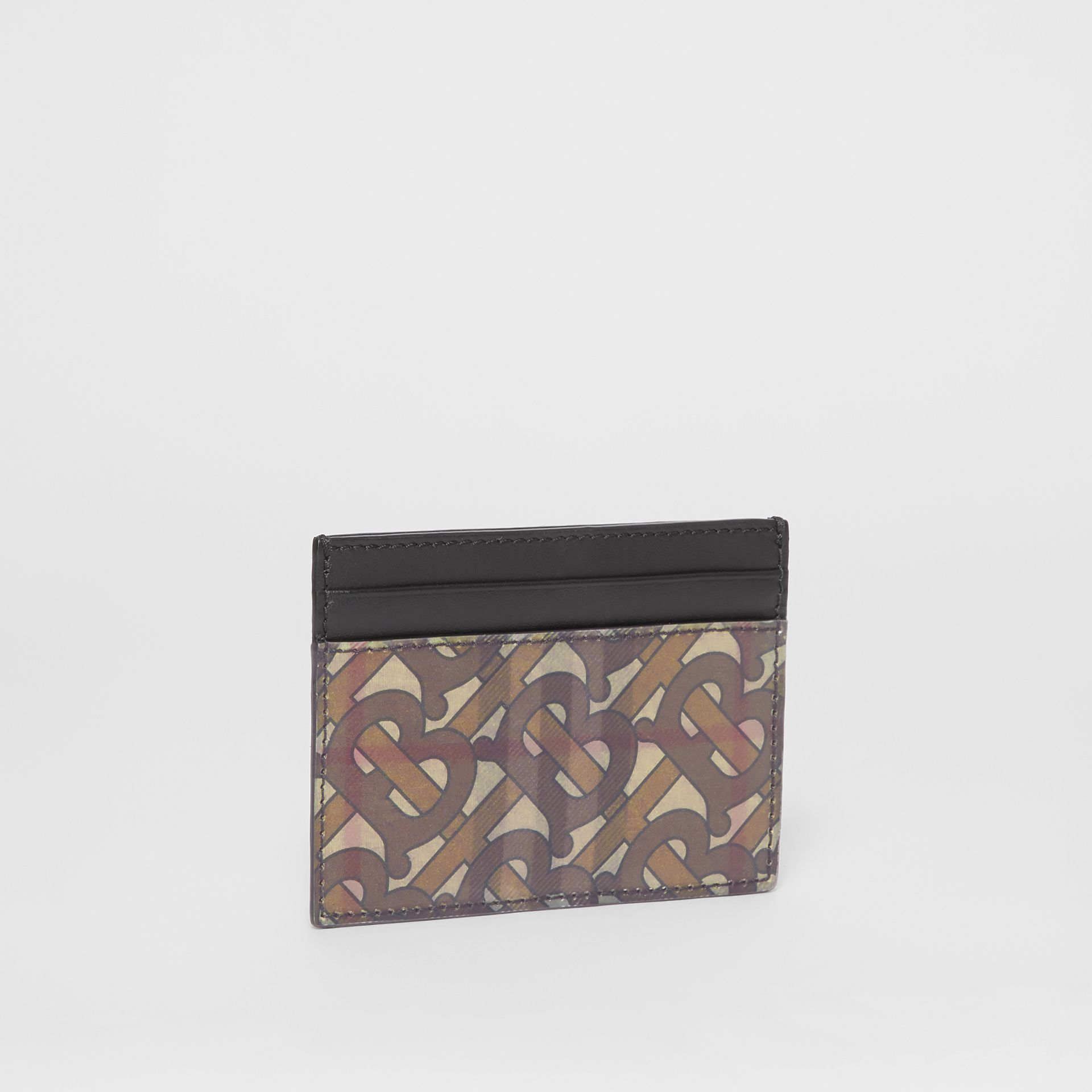 3D Print Card Case in Archive Beige - Men | Burberry United Kingdom - gallery image 3