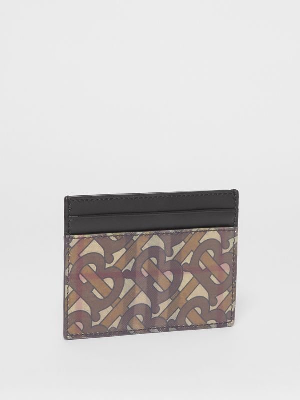 3D Print Card Case in Archive Beige - Men | Burberry United Kingdom - cell image 3