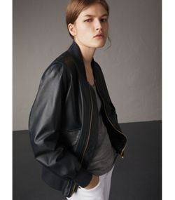 Women's Jackets | Leather Bikers & Bomber | Burberry