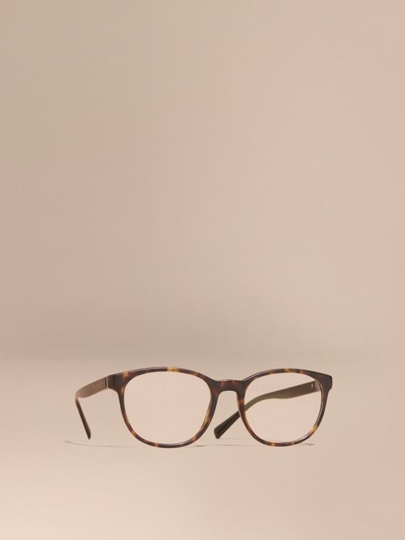 Square Optical Frames Tortoise Shell