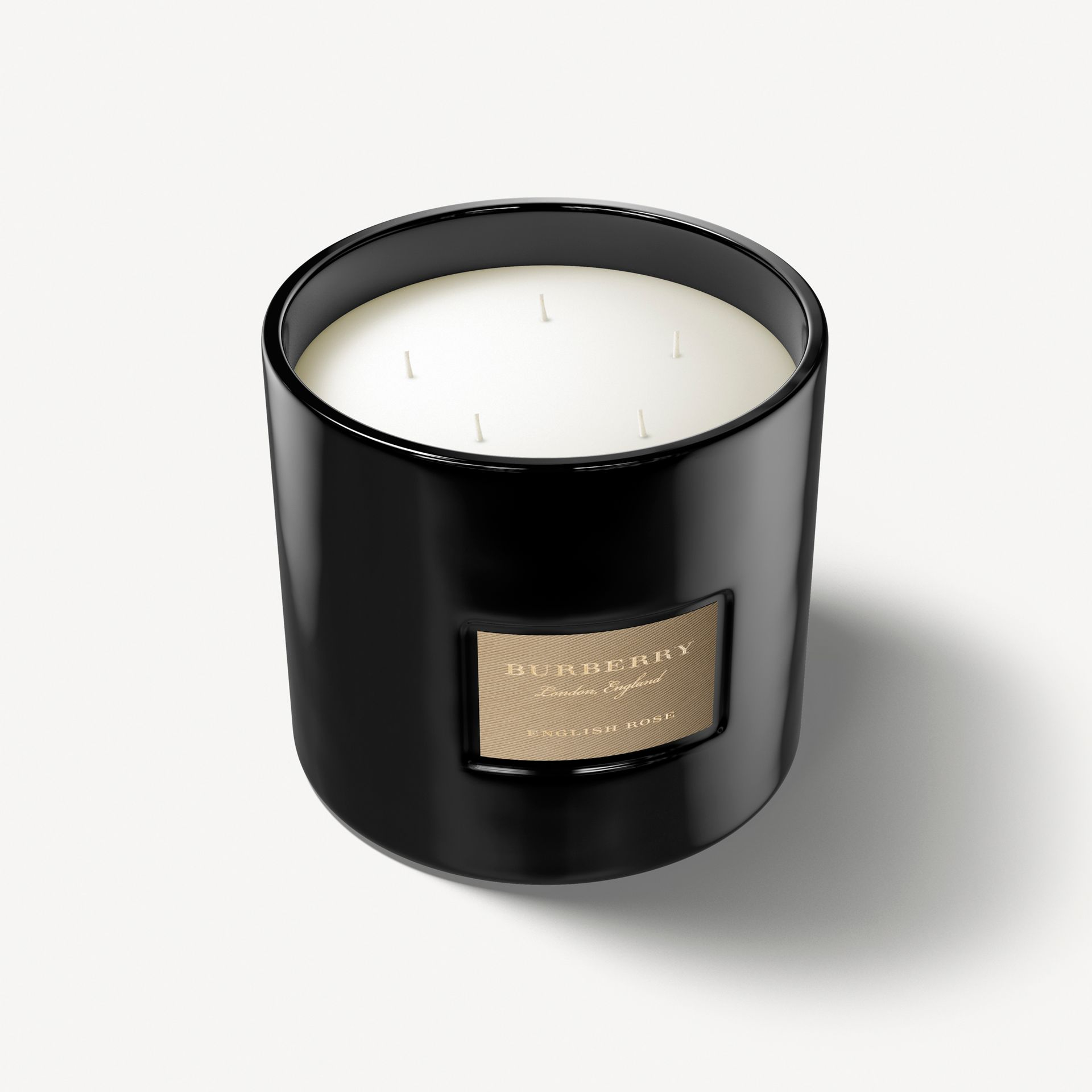 English Rose Scented Candle – 2 kg (Englisch-rosenfarben) | Burberry - Galerie-Bild 1