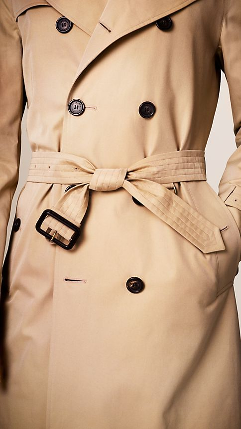 Honey The Wiltshire - Long Heritage Trench Coat - Image 4