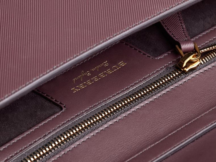 The DK88 Portfolio Case in Wine - Men | Burberry - cell image 4