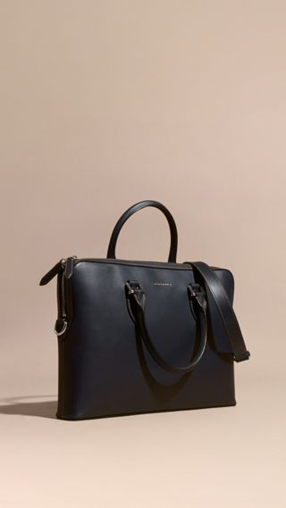 Sac The Barrow fin en cuir lisse