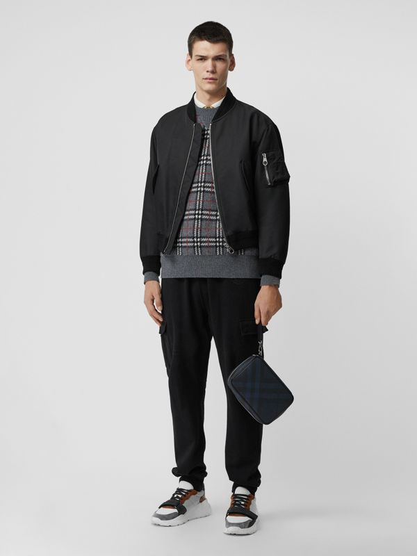 Reiseetui aus London Check-Gewebe (Marineblau/schwarz) - Herren | Burberry - cell image 2