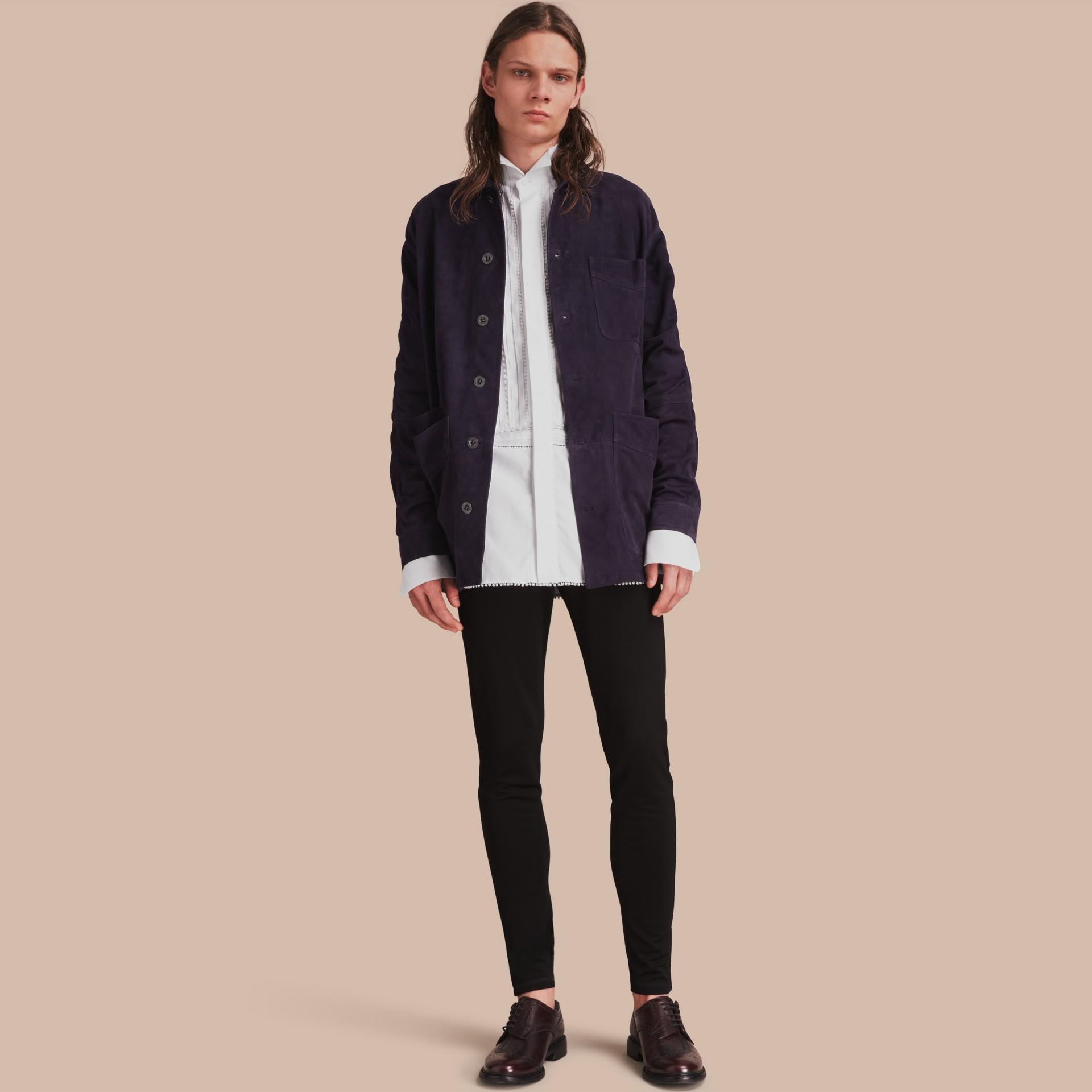 Suede Workwear Jacket - gallery image 1