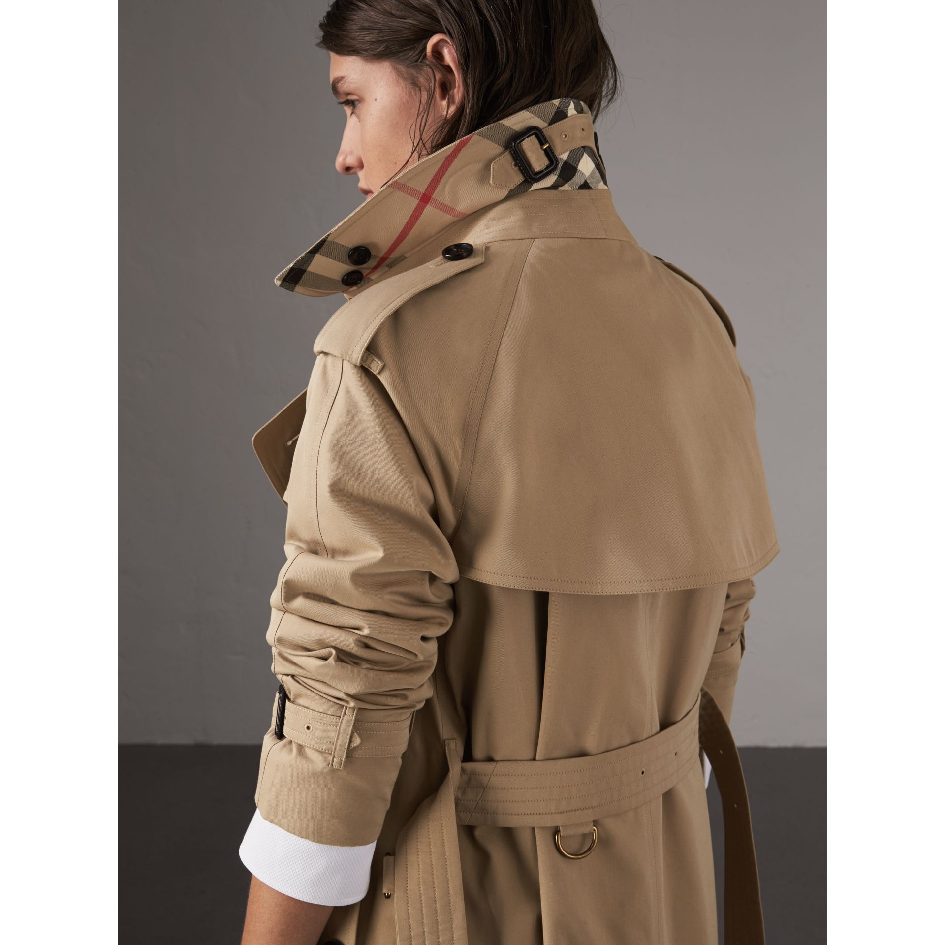 The Westminster – Trench extra-long (Miel) - Femme | Burberry - photo de la galerie 1