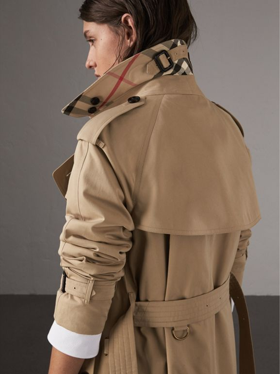 The Westminster – Extra-long Trench Coat in Honey - Women | Burberry United States - cell image 1