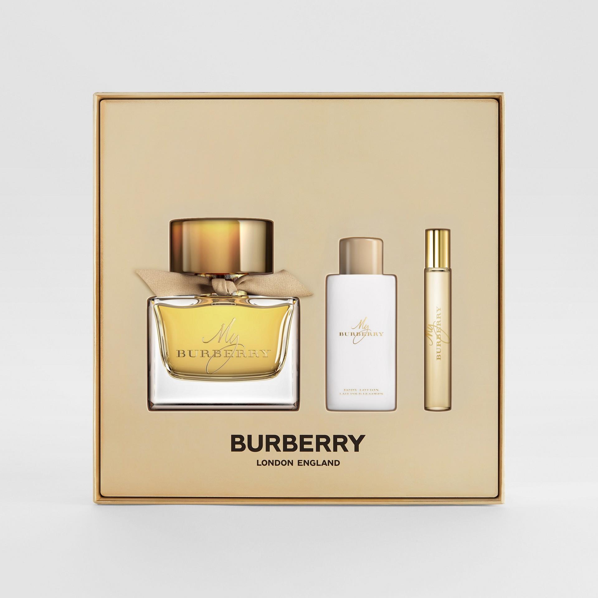 Coffret cadeau Eau de Parfum MyBurberry (Miel) - Femme | Burberry Canada - photo de la galerie 1