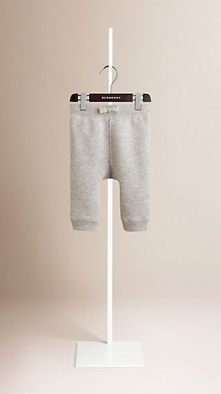 Cotton-Blend Drawcord Trousers