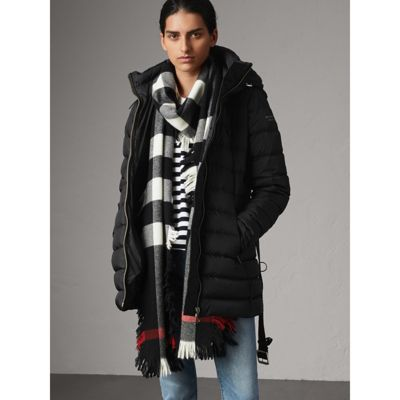 Detachable Hooded Down-filled Puffer Coat