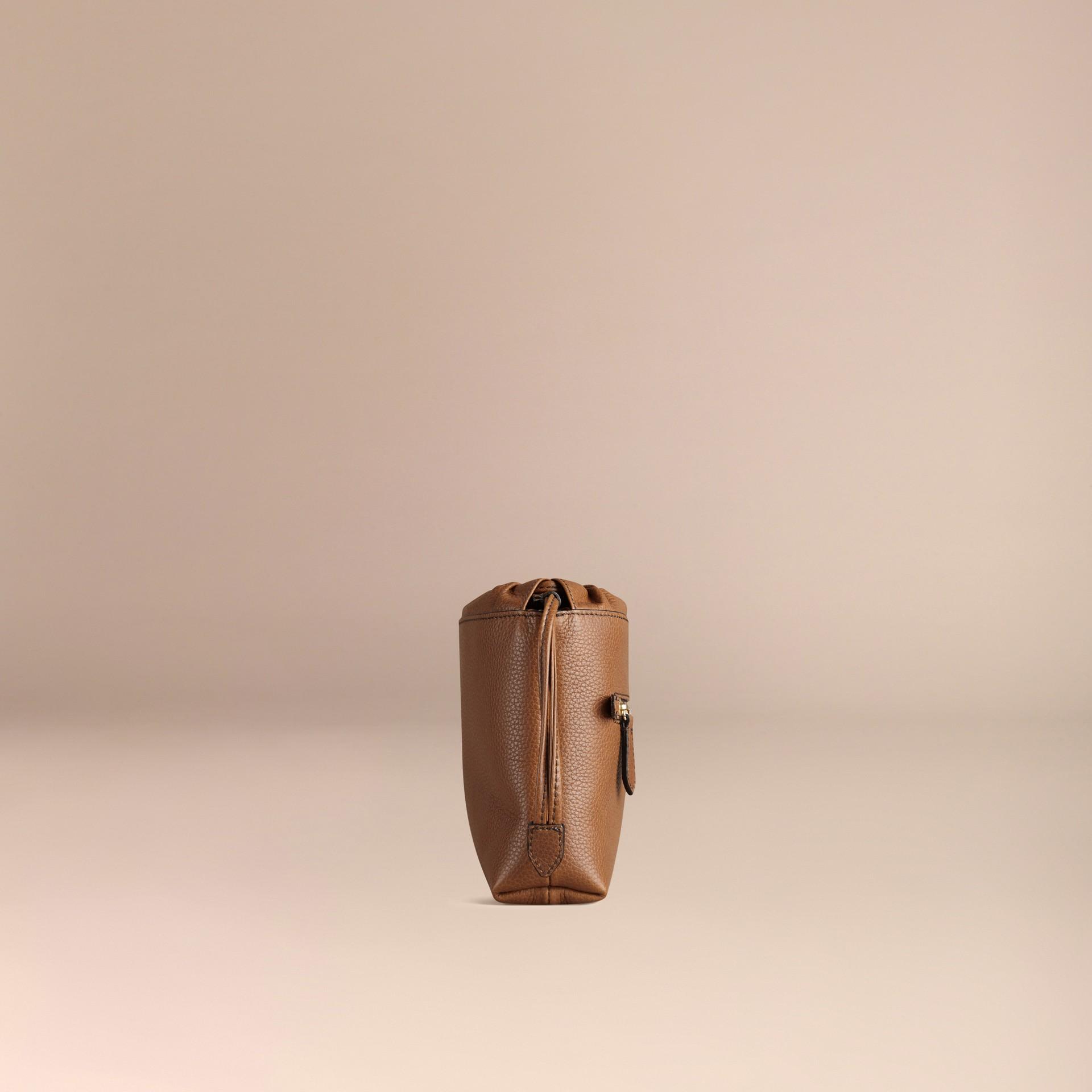 Hâle Sac The Mini Crush en cuir grené Hâle - photo de la galerie 3