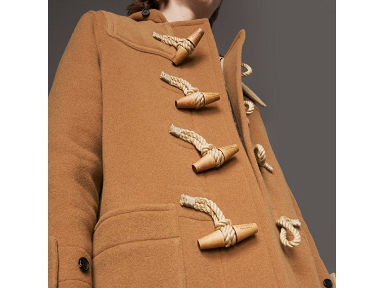 Duffle-coat The Greenwich (Camel Moyen) - Homme | Burberry - cell image 4